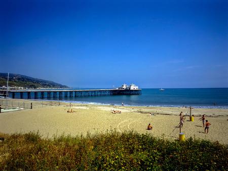 malibu: Malibu beach in California