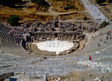 great: Great Theater, Ephesus
