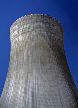 temelin: Cooling Tower of Nuclear Power Plant in  Temelin, Czech Republic