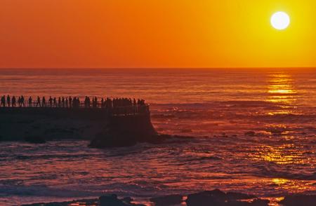 ocea: Sunset in La Jolla, California