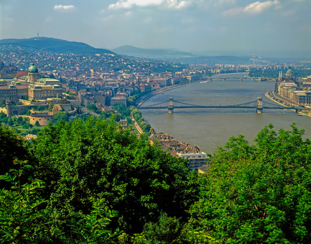 royals: River Danube in Budapest, Hungary