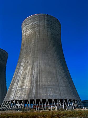 temelin: Cooling Tower in  Nuclear Power Plant, Temelin, Czech Republic