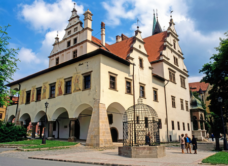 old town hall: Old Town Hall, Levoca, Slovakia Editorial