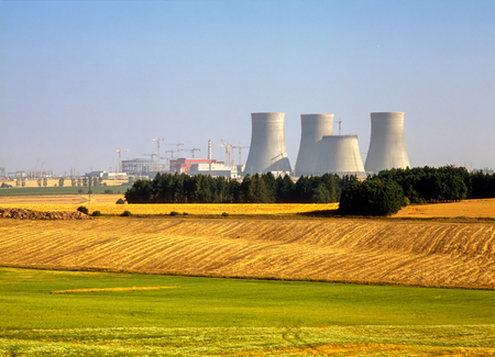 Nuclear Power Plant,Temelin, Czech Republic