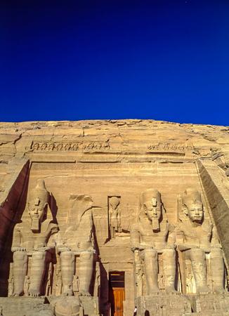 abu simbel: Temple Abu Simbel dedicated to Ramesses II