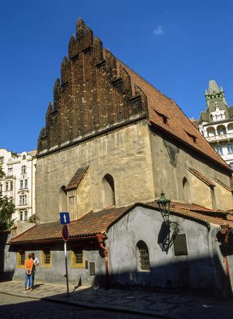 synagoge: Old  New Synagoge, Prague