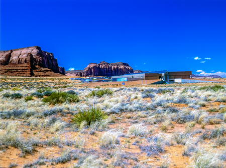 School for Navajo children in Monument Valley