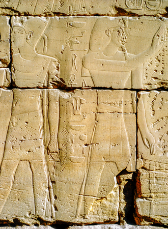 Relief in Luxor, Egypt