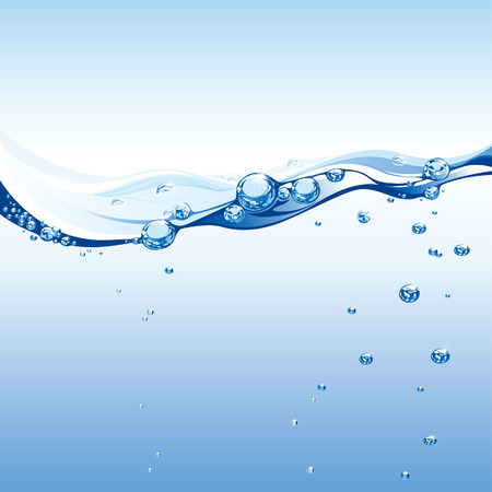 Pure Water Wave Zdjęcie Seryjne - 3536068