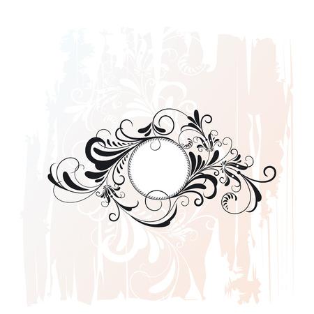 Circle Decorative Flourishes Ornament Vector