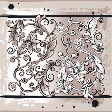 Decorativ Floral Elements Vector