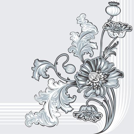 Papaver bloemen