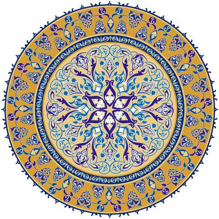 Arabisch Klassieke Ornament Stock Illustratie