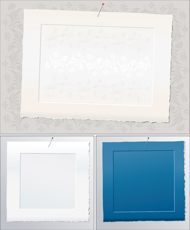 framed: Framed Papers On Wall
