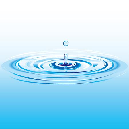 Water Drop Splash Zdjęcie Seryjne - 3759184