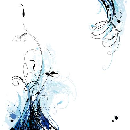 natural vector: Floral Background Illustration