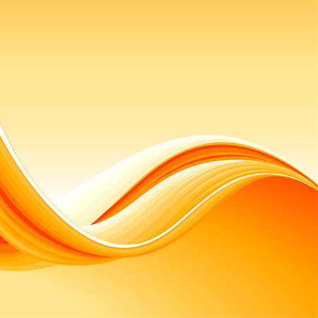 fluids: Colorful Abstract Wave Background, editable vector illustration