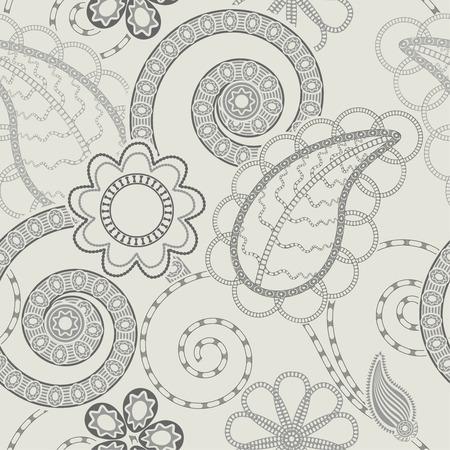Seamless bloemmotief achtergrond Stock Illustratie