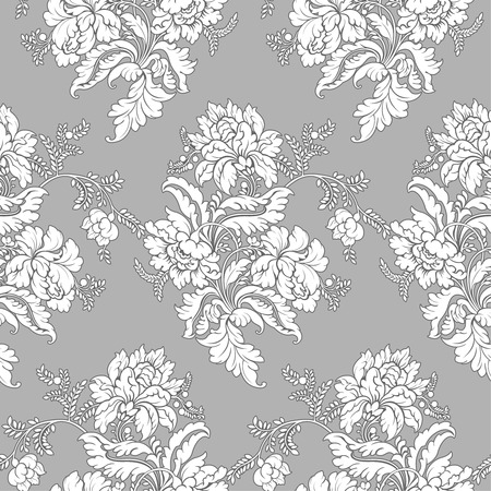 Classic floral pattern - seamless  Vector