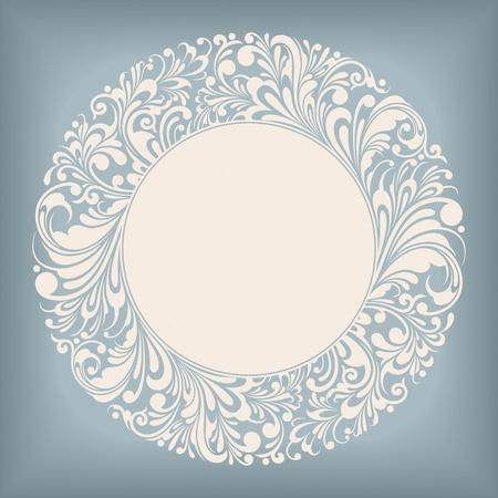 Ornament Circle Label Series Stock Vector - 12963943