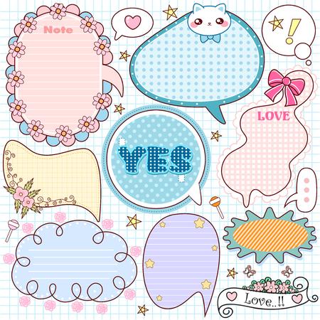 cute note paper set