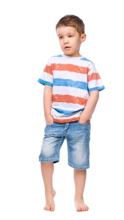 ��beautiful boy�: Little beautiful boy, isolated over white