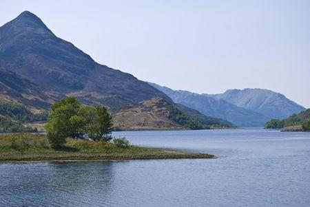 loch: beautiful scenery of Loch Leven, Scotland