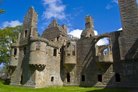 Earls Palace in Kirkwall on Orkney, Scotland