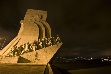 famous monumemt for the discoveries in Belem Stock Photo - 4869370