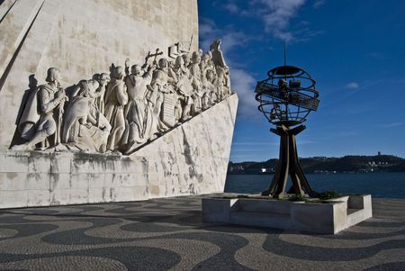 famous monumemt for the discoveries in Belem Stock Photo - 4869300