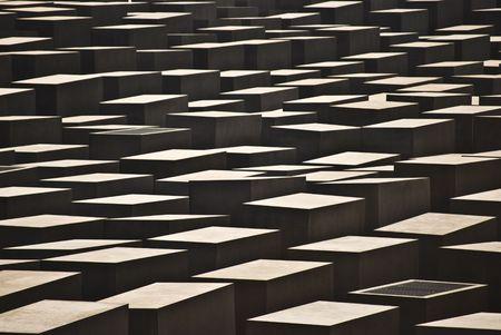 szczegóły Pomnik ofiar holocaustu w Berlinie Zdjęcie Seryjne - 4886626