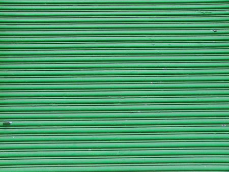 background of an old green garage door Stock Photo - 5214503