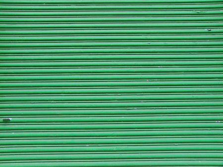 background of an old green garage door Stock Photo - 5214503