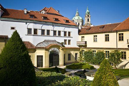 part of the beautiful Wrtba garden in Prague Stock Photo - 5863180