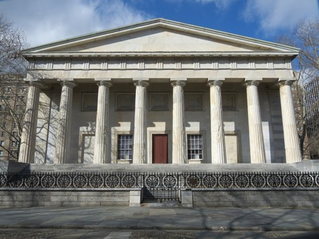 building part of the Independence National Historical Park in Philadelphia Stock Photo - 7129412