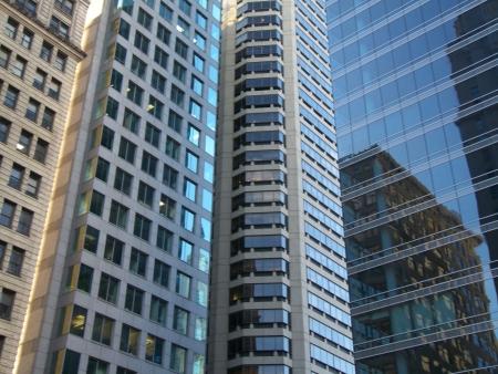 skyscrapers with lots of offices in Philadelphia Standard-Bild