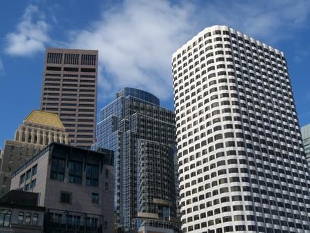 part of the beautiful skyline of Boston photo