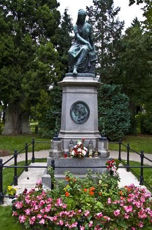 amadeus mozart: Memorial de Wolfgang Amadeus Mozart, en el cementerio central de Viena