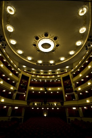 theater seat: beautiful interior of the Burgtheater in Vienna
