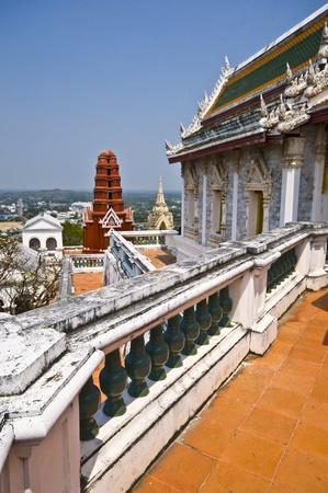 part of the kings palace Phra Nakhon Khiri in Phetchaburi photo