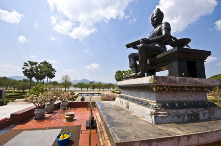 king ramkhamhaeng: monument of King Ramkhamhaeng the Great in Sukhothai