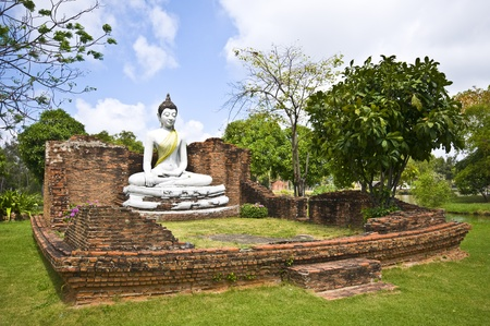 samut prakan: part of the Ancient City in Samut Prakan Stock Photo