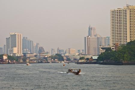 praya: Bangkok and its river Menam Chao Phraya