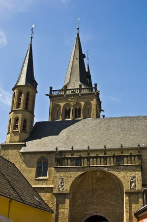westfalen: view of the old cathedral in Xanten