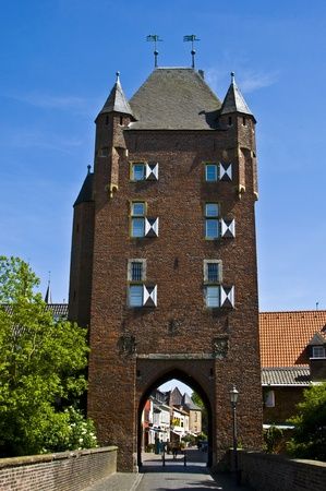 westfalen: old city gate called Klever Tor in Xanten Editorial