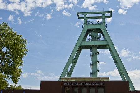 westfalen: exterior of the german mining museum in Bochum