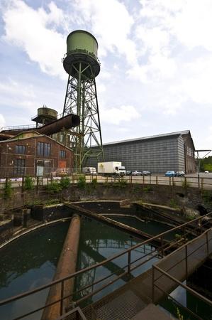 disused: la arquitectura industrial abandonado en el Jahrhunderthalle en Bochum