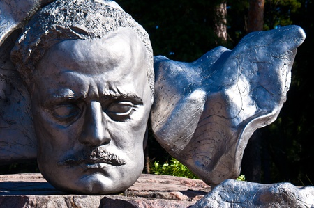 part of the monument for Sibelius in Helsinki Stock Photo - 10868299