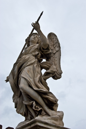 angeli: one of the angels of the Ponte del Angeli in Rome
