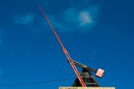 metronome: big metronome on a hill in Prague